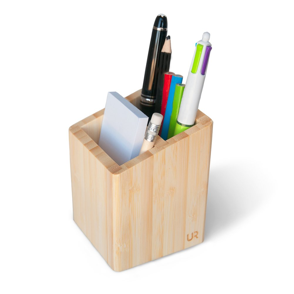 Organizador de escritorio elegante para escritorio, organizador de escritorio de alta calidad y suave, de madera
