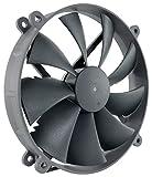 Noctua NF-P14r redux-1500 PWM, High Performance Cooling Fan, 4-Pin, 1500 RPM (140mm Grey)