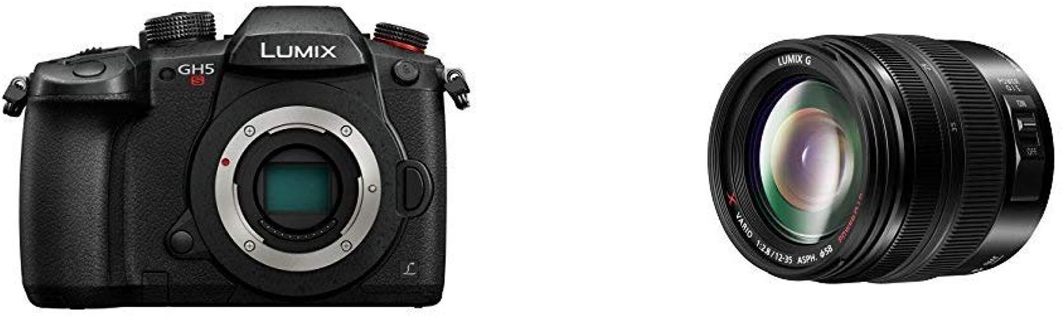 Panasonic Lumix DC-GH5S - Cámara Evil de 10.28 MP + Panasonic Lumiz G X Vario H-HSA12035E Lente CSC Micro 4/3