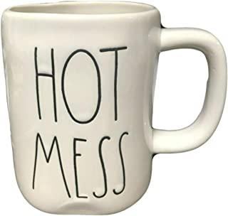 Rae Dunn By Magenta Ceramic Hot Mess Coffee Tea Mug