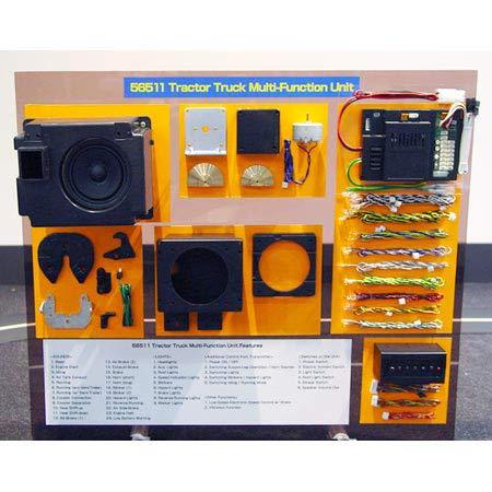TAMIYA America, Inc 1/14 Semi Truck Multi Function Unit, TAM56511