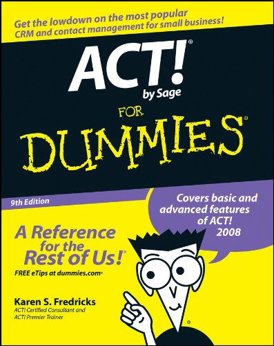 ACT! by Sage For Dummies (English Edition)