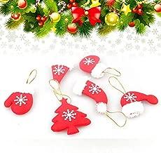 Santa - Christmas Tree Decorations Santa Claus Snowman Gifts Hanging Ornaments Pendant Baubles Lot - Noel Christmas Dvd Ornament Stock Xmas Toy Christmas Decor Christma Ornaments & Drop Cake