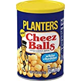 Planters White Cheddar Cheez Balls (2.75 oz Jars, Pack of 12)