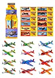6 x Flying Glider Planes Boys Kids Party Bag Loot Fillers by...
