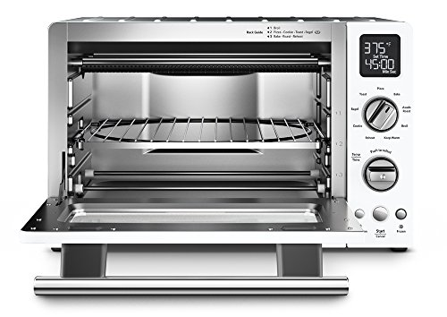 "KitchenAid KCO275WH Convection 1800W Digital Countertop Oven, 12"", White"