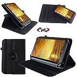 UC-Express Schutz Tasche für Asus MeMo Pad 7 ME572C ME572CL Hülle Tablet Schutzhülle Cover, Farben:Schwarz