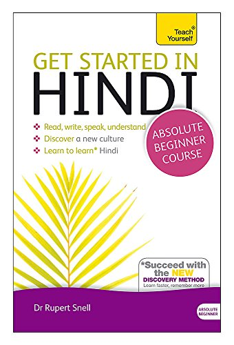Compare Textbook Prices for Get Started in Hindi - Absolute Beginner Course Teach Yourself Teach Yourself Language 2 Edition ISBN 9781444174687 by Snell, Rupert