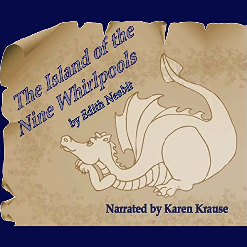 The Island of the Nine Whirlpools audiobook cover art