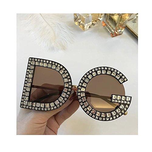 day spring online shop Gafas de Sol Hombre Mujer Crystal Details Dolce & Gabban a DG6121B DG Sunglasses - Brown