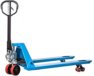Vestil HDP-6-42 Pallet Lifter 6000 lb Capacity Steel Painted Blue 42 Length Fork