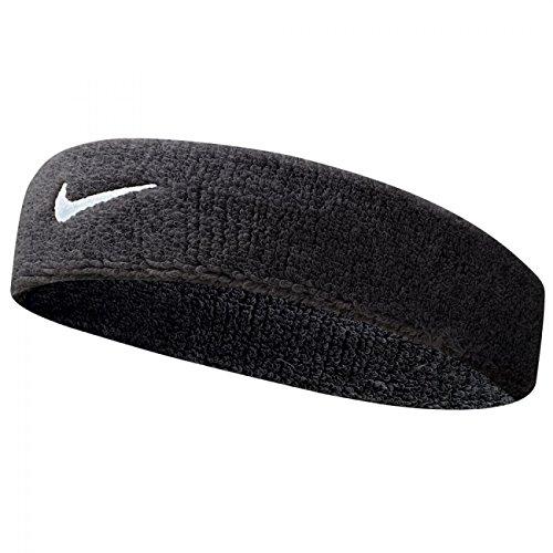 Nike Headband Swoosh Blackwhite