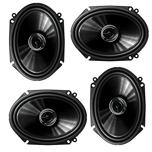 """Pioneer TS-G6845R 2-Way 6"""" x 8"""" or 5"""" x 7"""" 500W Car Speaker (2 Pairs) 6x8 5x7"""