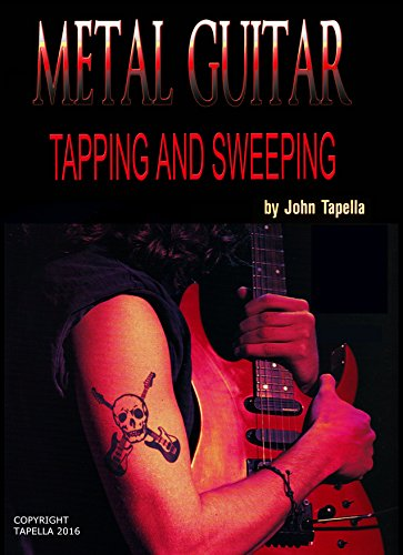 Metal Guitar Tapping and Sweeping: Metal Guitar Technique and Style (English Edition)