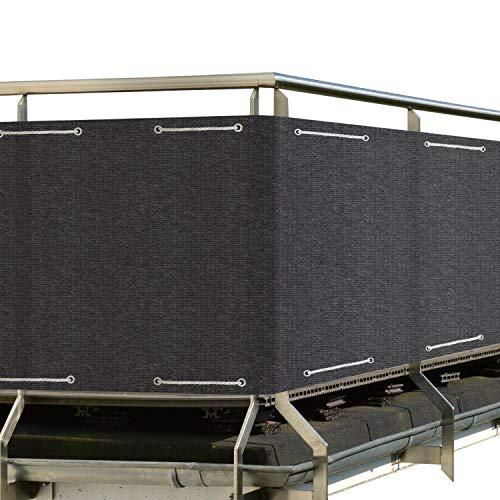 Sol Royal SolVision Protección Visual HB2 HDPE Pantalla Opaca 500x90 cm Antracita...