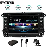 SWTNVIN Android 10.0 Car Audio Stereo Headunit Fits for Volkswagen Skoda DVD Player Radio 7 Inch HD Touch...