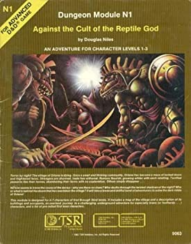 N1 Against the Cult of the Reptile God - Book  of the Advanced Dungeons and Dragons Module #C4