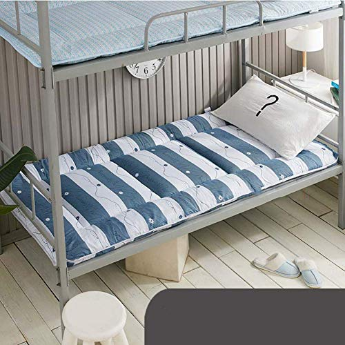 MKXF Cojín para Dormir Plegable del Topper del colchón para los niños Que acampan de los huéspedes, colchón japonés del futón del Piso