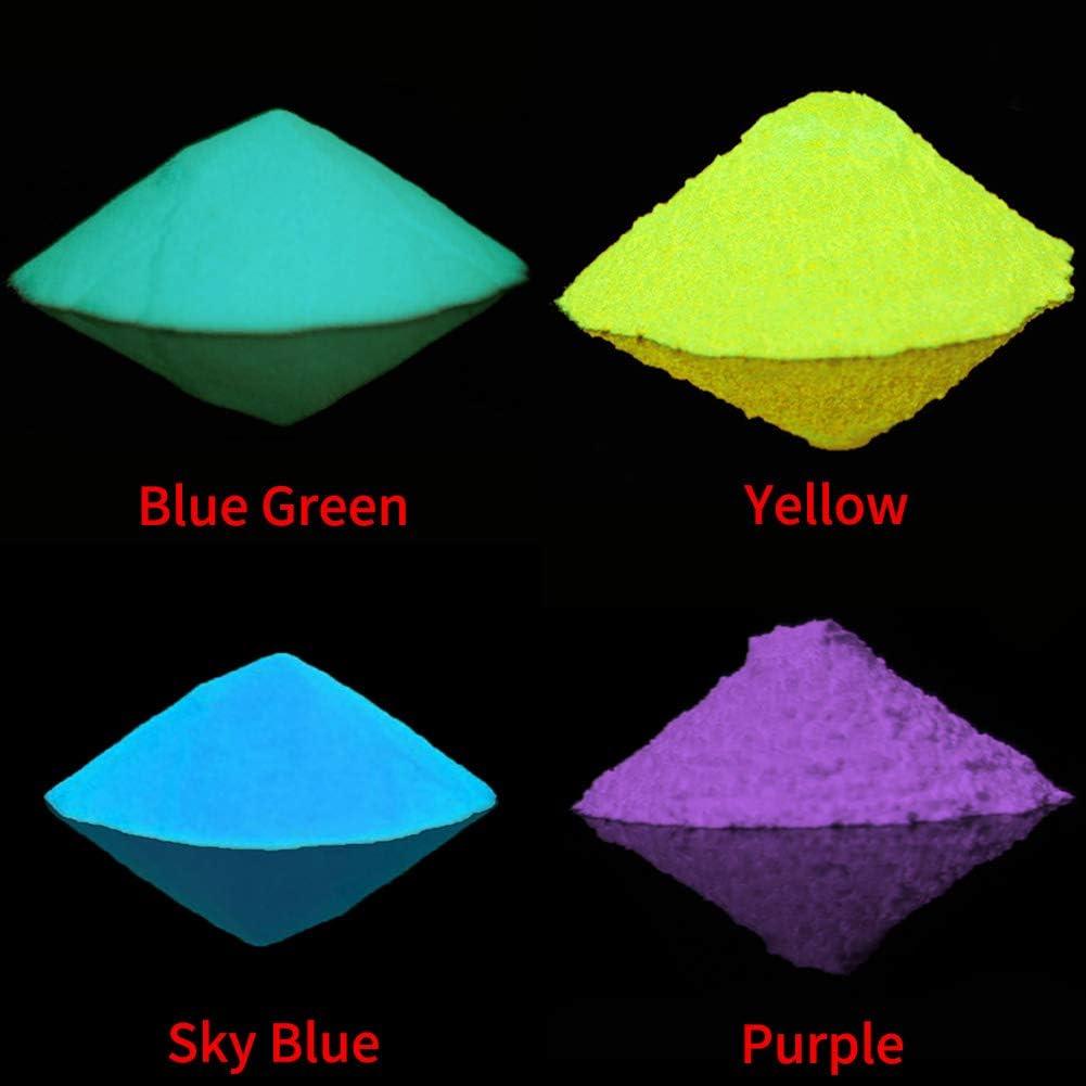 SUNERLORY Arena Luminosa Pigmento Fluorescente Oscuro para el ...