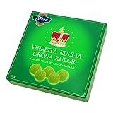 Fazer Grona kulor (paquete de 3) dulces de mermelada de pera finlandesa