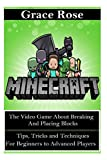 Minecraft: The Video Game about Breaking and Placing Blocks (Minecraft Toys, Minecraft Lego, Minecraft PC, Minecraft Video Games, PC Games, XBox)