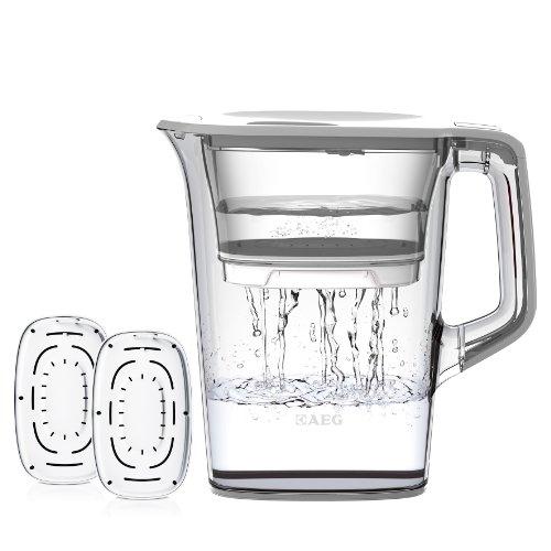 AEG AWFPLKIT Wasserfilter AquaSense 1000, Starterpack inklusive 3 Filter-Kartuschen