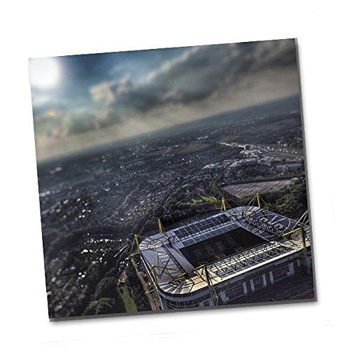 BVB 09 Borussia Dortmund Kunstdruck Signal Iduna Park 50 x 50 cm Stadion Bild Wandbild 15904900