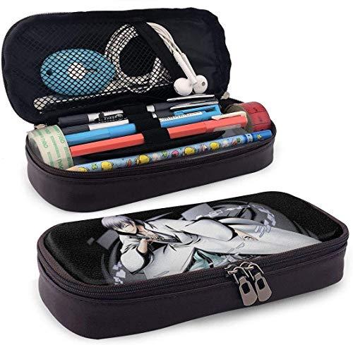Federmäppchen Große Kapazität Hohe Kapazität Stift Bleistiftbeutel Schreibtisch Organizer Praktischer Taschenhalter mit Reißverschluss für Schule Büro - Anime Bleach - Ichimaru Gin