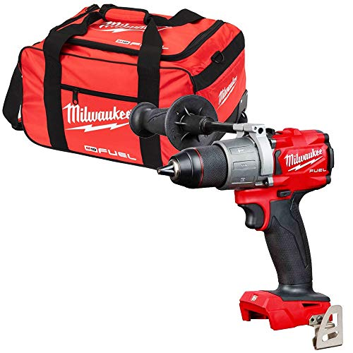 Milwaukee M18FPD2 18V Fuel Percussion Drill with 19 inch Wheel Bag