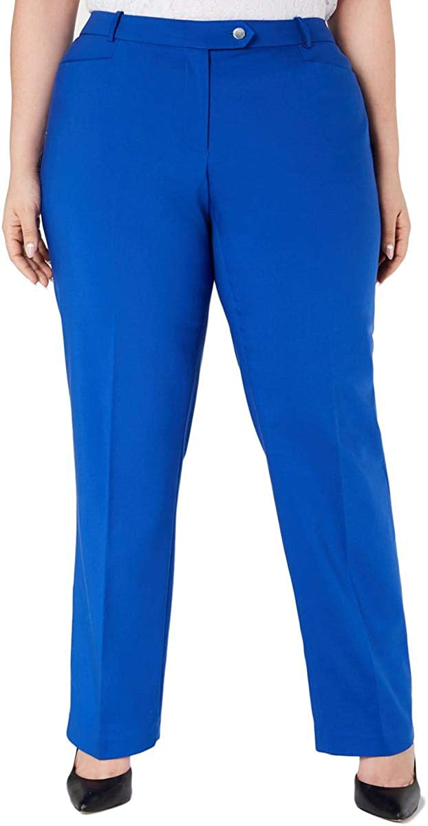 CALVIN KLEIN Women's Plus Dress Max 75% OFF Pants Tapered Modern-fit Luxury goods