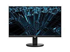 "AOC 27"" 4K UHD 3840 x 2160 UHD LED monitor Ips panel with wide Viewing angles and produces over 1 billion colors for rich details 3-Sided frameless design, ideal for seamless setup. Brightness (typical) - 350 cd/m² 5ms response time for fast Response..."