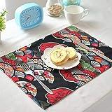 ランチョン マット 和風 ランチョン マット 布 子供用 布 給食 子供用 布 給食