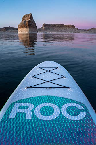 Roc Inflatable Stand Up Paddle Board with Premium sup Accessories &...