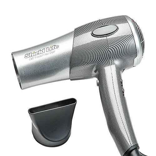 Shield Life EMFreedom Hair Dryer 1800W with Ceramic Far Infrared Heat and Negative Ions