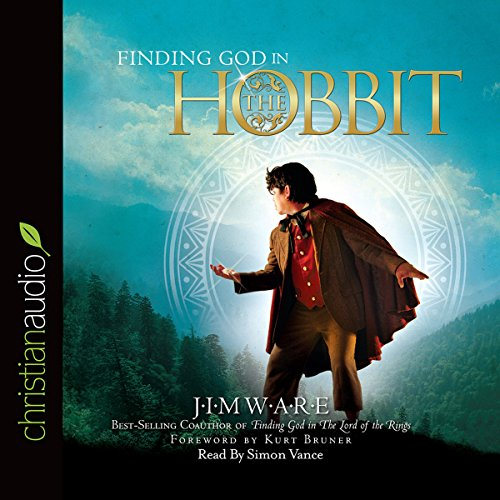 Finding God in 'The Hobbit' audiobook cover art