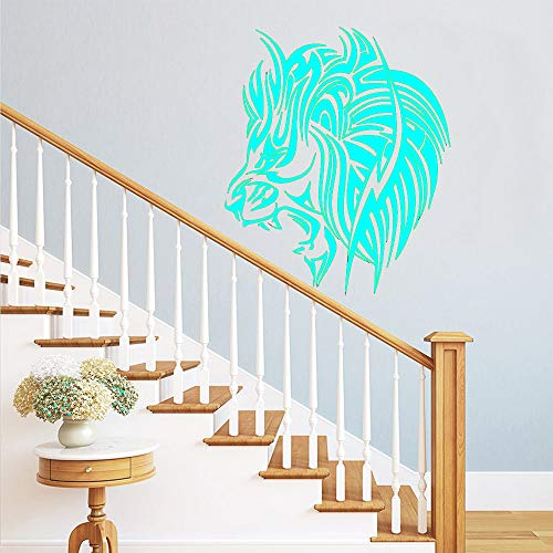 Selbstklebende Vinyltapete Kinderzimmerdekoration Abnehmbarer dekorativer Wandaufkleber 蓝色 28cm X 34cm