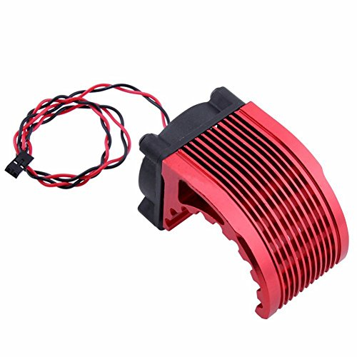 Fransande 40 x 40 mm disipador de calor aleta 5 V ventilador de refrigeración para motor Leopard RC sin escobillas motor de 42 mm 1515 812 T8 K80 K82