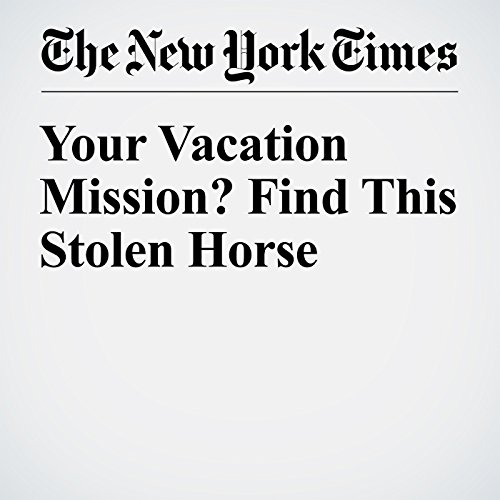 Your Vacation Mission? Find This Stolen Horse audiobook cover art