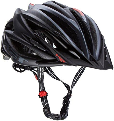 MET Fahrradhelm Veleno Matt, Black, 58-61 cm
