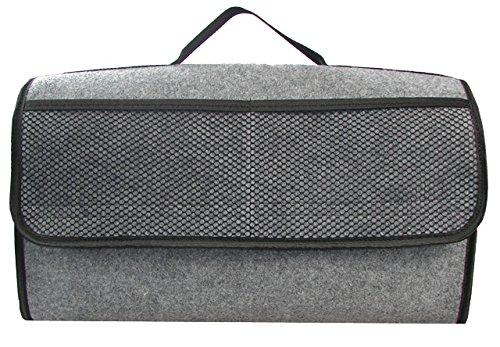 Kofferraumtasche in grau groß für jedes Fahrzeug passend