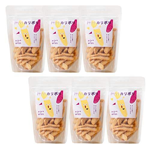 オノマトペのおやつたち 茨城の干し芋かりんとうカリポリ 40g×6 スナック菓子 かりんとう 無添加