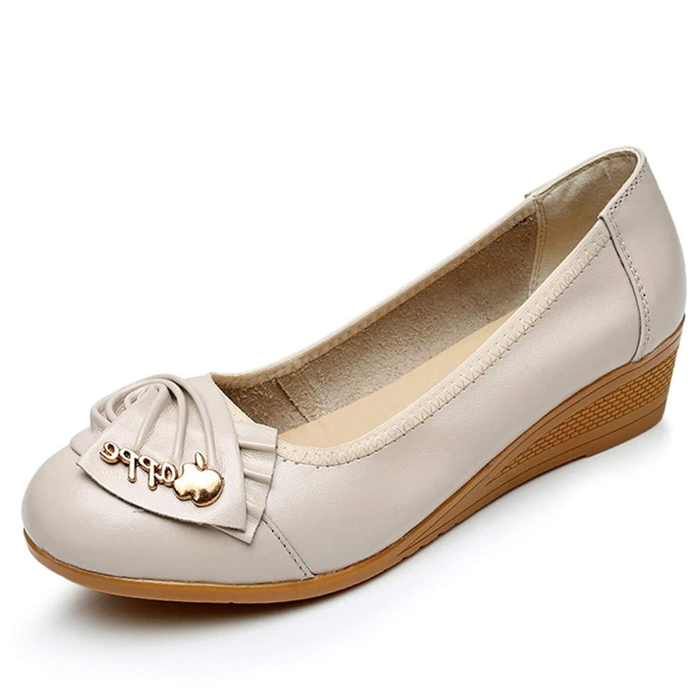 カウンターパート分割薄いバレエシューズ フラットシューズ やわらかい レディース 靴 パンプス 痛くない 脱げない 歩きやすい ローヒール ウェッジソール コンフォートシューズ 低反発 小さいサイズ 大きいサイズ 3.5cm ヒール