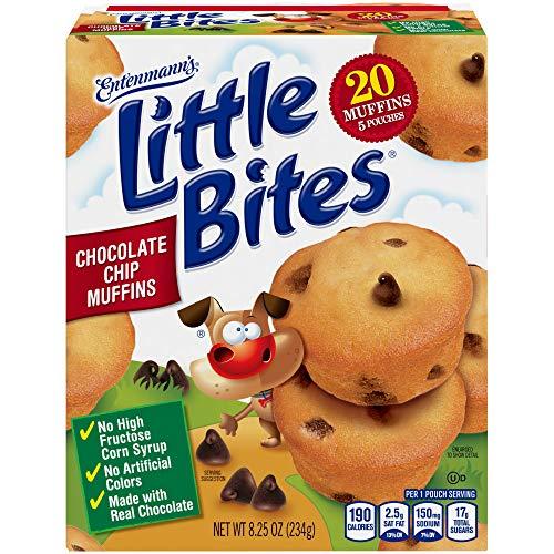 Entenmanns little Bites Chocolate Chip Muffins - 5ct