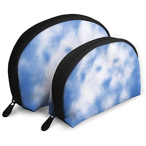 Cloud Sky Lion Bolsas porttiles Bolsa de Maquillaje Bolsa de Aseo, Bolsas de Viaje porttiles multifuncin Pequea Bolsa de Embrague de Maquillaje con Cremallera