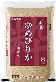 ホクレン 北海道産 玄米 ゆめぴりか 3kg 平成30年産