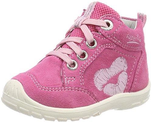Superfit Baby Mädchen Softtippo Sneaker, Pink (Pink Kombi), 27 EU