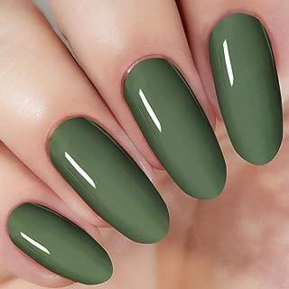 Green Nail Dipping Dip Powder by I.B.N (Added Vitamins), No Need Nail Dryer Lamp, 1 Ounce (DIP 016)