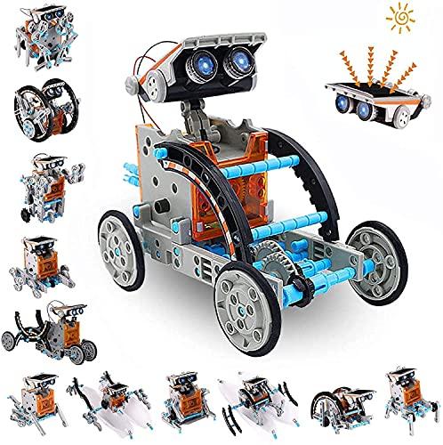 AceLife STEM Solar Robot Toy 12-in-1 Educational Science Kit DIY Building...