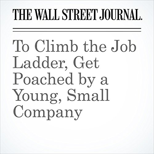 To Climb the Job Ladder, Get Poached by a Young, Small Company copertina