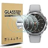 Diruite Confezione da 4 pellicole proteggi schermo in vetro temperato per Samsung Galaxy Watch 4 Classic 42 mm per Samsung Galaxy Watch 4 Classic Smart Watch